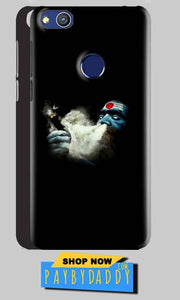 Huawei Honor 8 lITE Mobile Covers Cases Shiva Aghori Smoking - Lowest Price - Paybydaddy.com