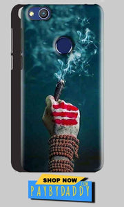Huawei Honor 8 lITE Mobile Covers Cases Shiva Hand With Clilam - Lowest Price - Paybydaddy.com