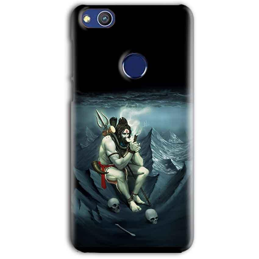 Huawei Honor 8 lITE Mobile Covers Cases Shiva Smoking - Lowest Price - Paybydaddy.com
