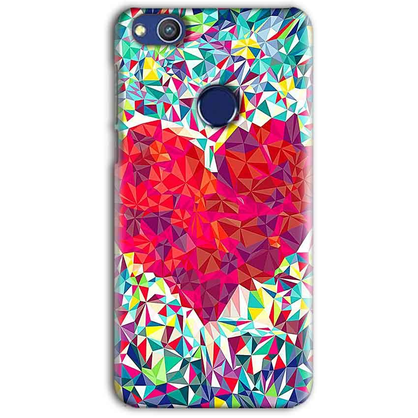 Huawei Honor 8 lITE Mobile Covers Cases heart Prisma design - Lowest Price - Paybydaddy.com
