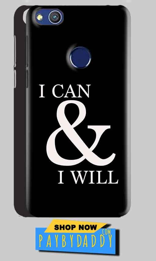 Huawei Honor 8 lITE Mobile Covers Cases i can and i will - Lowest Price - Paybydaddy.com
