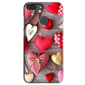 Huawei Honor 9 Lite Mobile Covers Cases Hearts- Lowest Price - Paybydaddy.com