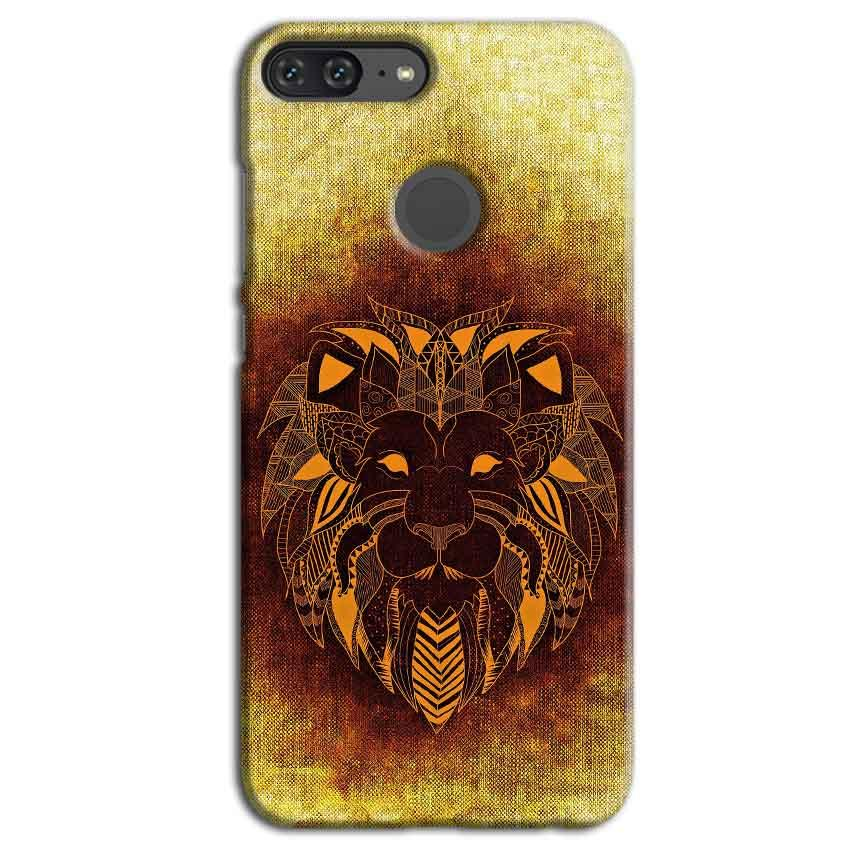 Huawei Honor 9 Lite Mobile Covers Cases Lion face art - Lowest Price - Paybydaddy.com
