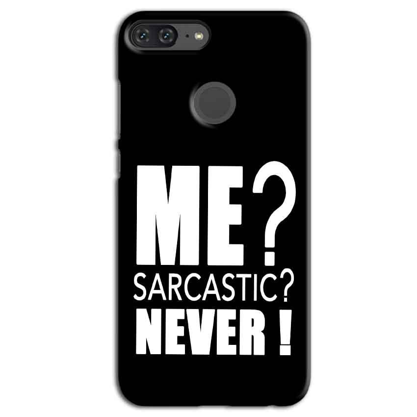 Huawei Honor 9 Lite Mobile Covers Cases Me sarcastic - Lowest Price - Paybydaddy.com