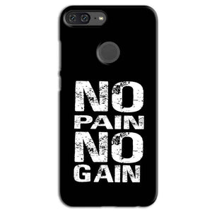 Huawei Honor 9 Lite Mobile Covers Cases No Pain No Gain Black And White - Lowest Price - Paybydaddy.com