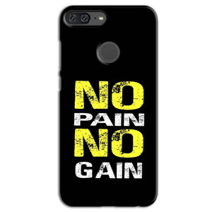 Huawei Honor 9 Lite Mobile Covers Cases No Pain No Gain Yellow Black - Lowest Price - Paybydaddy.com