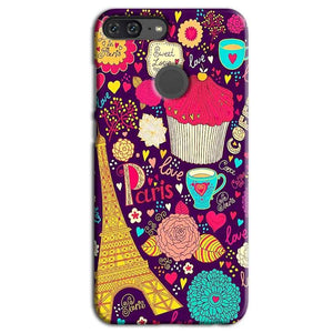 Huawei Honor 9 Lite Mobile Covers Cases Paris Sweet love - Lowest Price - Paybydaddy.com