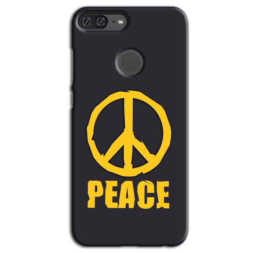 Huawei Honor 9 Lite Mobile Covers Cases Peace Blue Yellow - Lowest Price - Paybydaddy.com