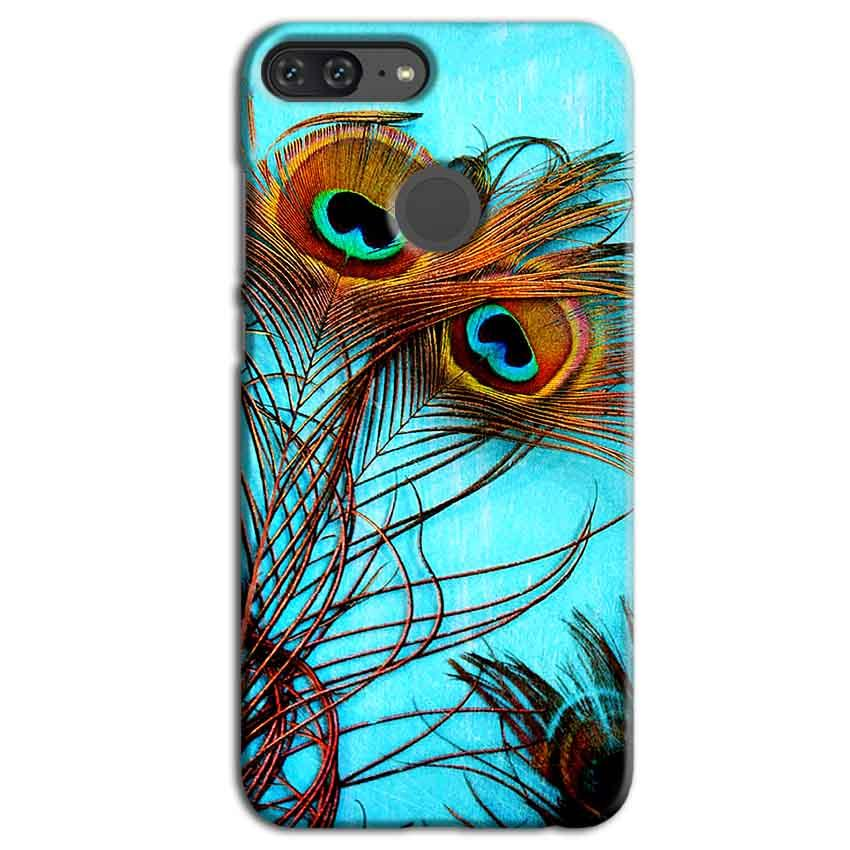 Huawei Honor 9 Lite Mobile Covers Cases Peacock blue wings - Lowest Price - Paybydaddy.com