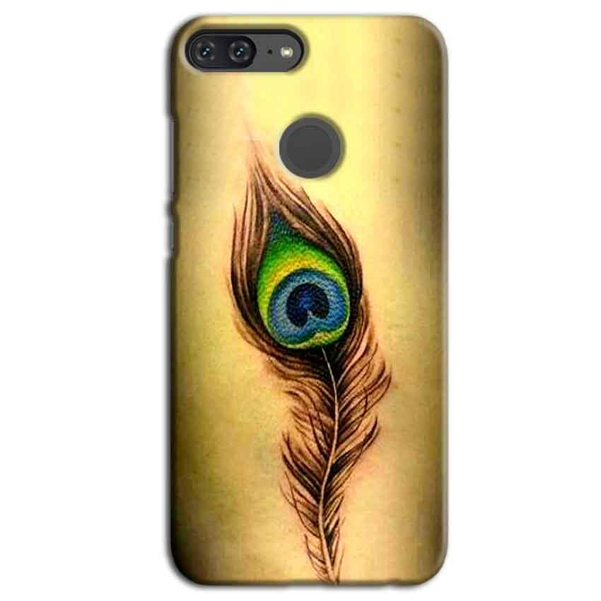 Huawei Honor 9 Lite Mobile Covers Cases Peacock coloured art - Lowest Price - Paybydaddy.com