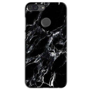 Huawei Honor 9 Lite Mobile Covers Cases Pure Black Marble Texture - Lowest Price - Paybydaddy.com