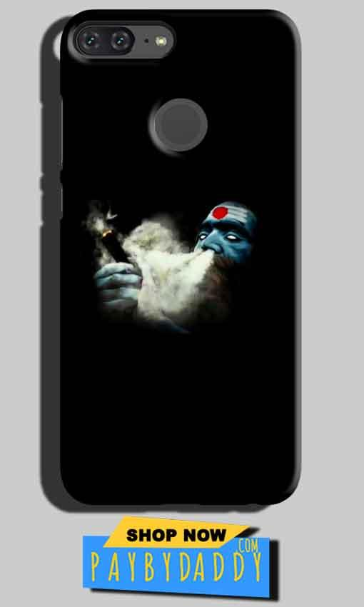 Huawei Honor 9 Lite Mobile Covers Cases Shiva Aghori Smoking - Lowest Price - Paybydaddy.com