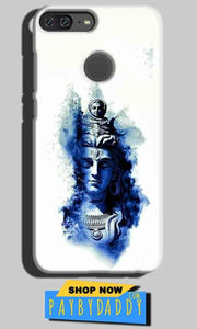 Huawei Honor 9 Lite Mobile Covers Cases Shiva Blue White - Lowest Price - Paybydaddy.com