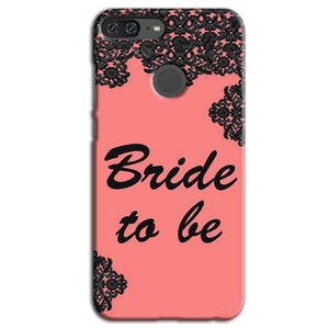 Huawei Honor 9 Lite Mobile Covers Cases Mobile Covers Cases bride to be with ring Black Pink - Lowest Price - Paybydaddy.com
