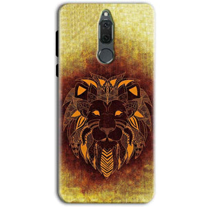 Huawei Honor 9i Mobile Covers Cases Lion face art - Lowest Price - Paybydaddy.com