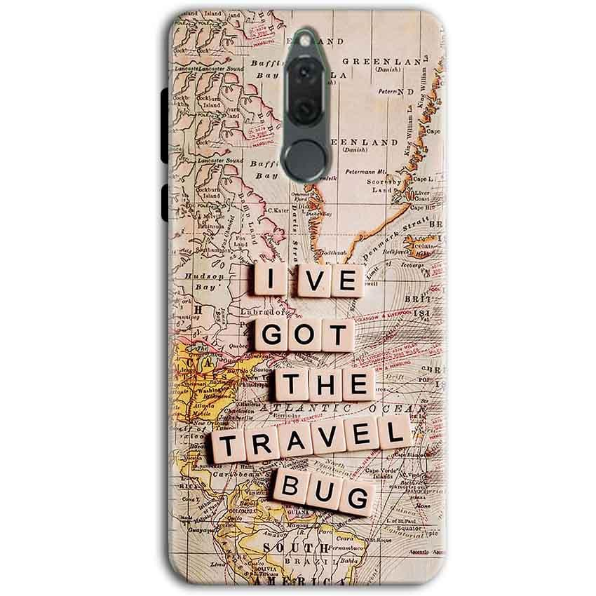 Huawei Honor 9i Mobile Covers Cases Live Travel Bug - Lowest Price - Paybydaddy.com