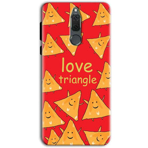 Huawei Honor 9i Mobile Covers Cases Love Triangle - Lowest Price - Paybydaddy.com