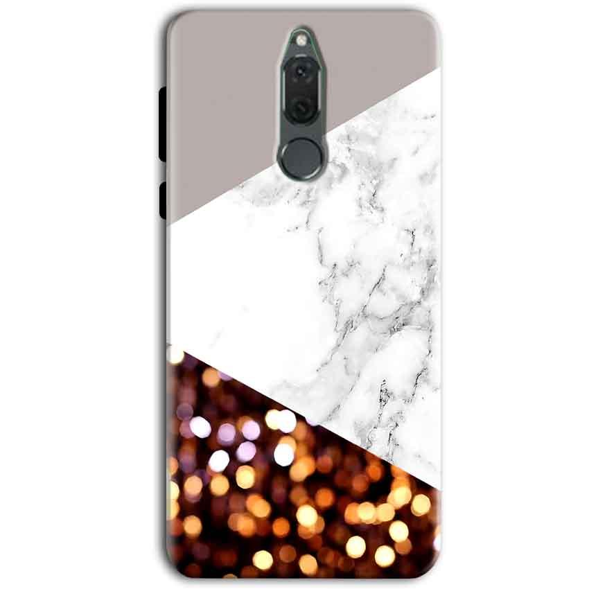 Huawei Honor 9i Mobile Covers Cases MARBEL GLITTER - Lowest Price - Paybydaddy.com