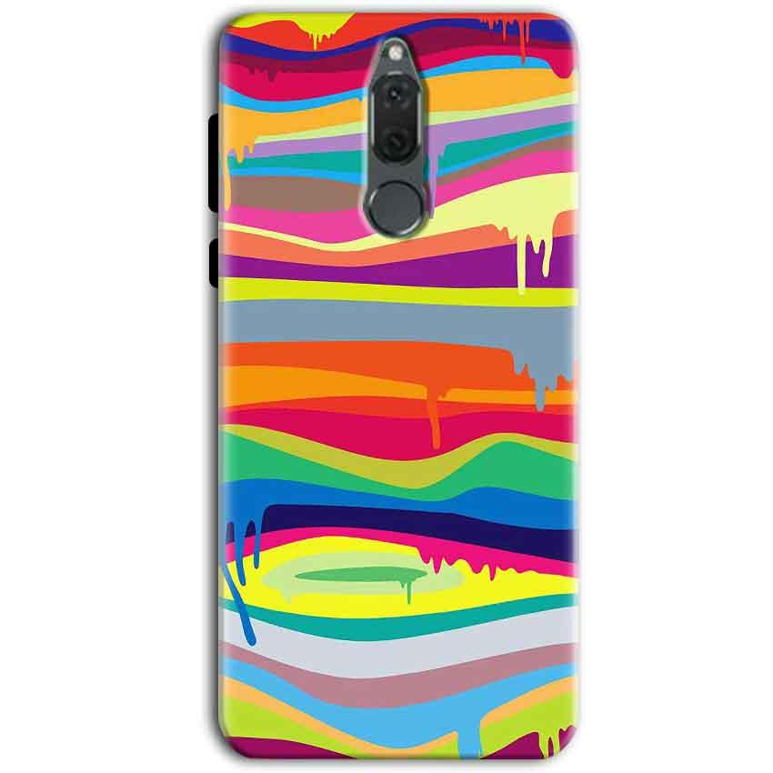 Huawei Honor 9i Mobile Covers Cases Melted colours - Lowest Price - Paybydaddy.com
