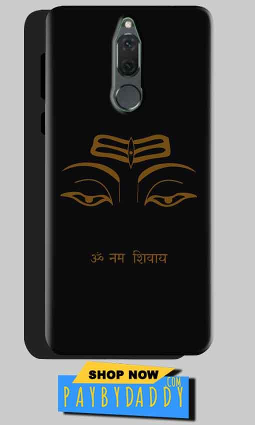 Huawei Honor 9i Mobile Covers Cases Om Namaha Gold Black - Lowest Price - Paybydaddy.com