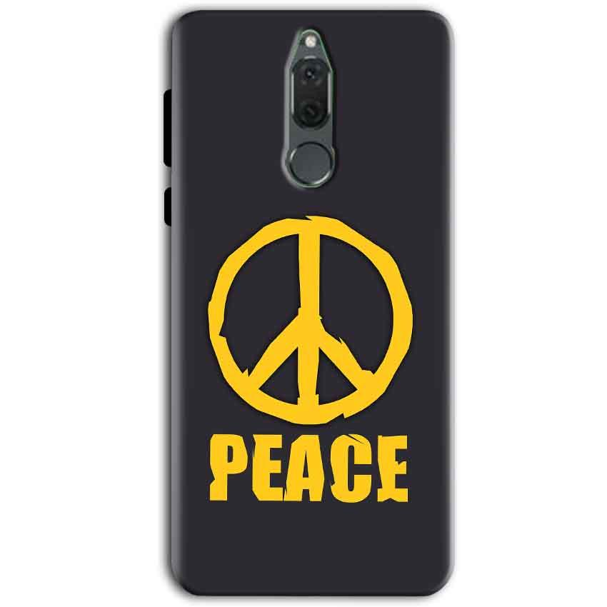 Huawei Honor 9i Mobile Covers Cases Peace Blue Yellow - Lowest Price - Paybydaddy.com