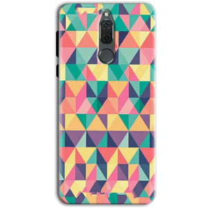 Huawei Honor 9i Mobile Covers Cases Prisma coloured design - Lowest Price - Paybydaddy.com