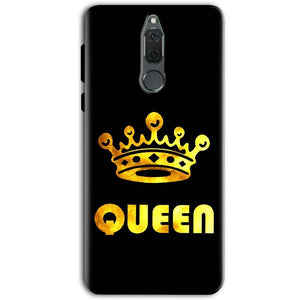 Huawei Honor 9i Mobile Covers Cases Queen With Crown in gold - Lowest Price - Paybydaddy.com