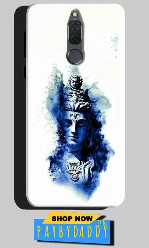 Huawei Honor 9i Mobile Covers Cases Shiva Blue White - Lowest Price - Paybydaddy.com