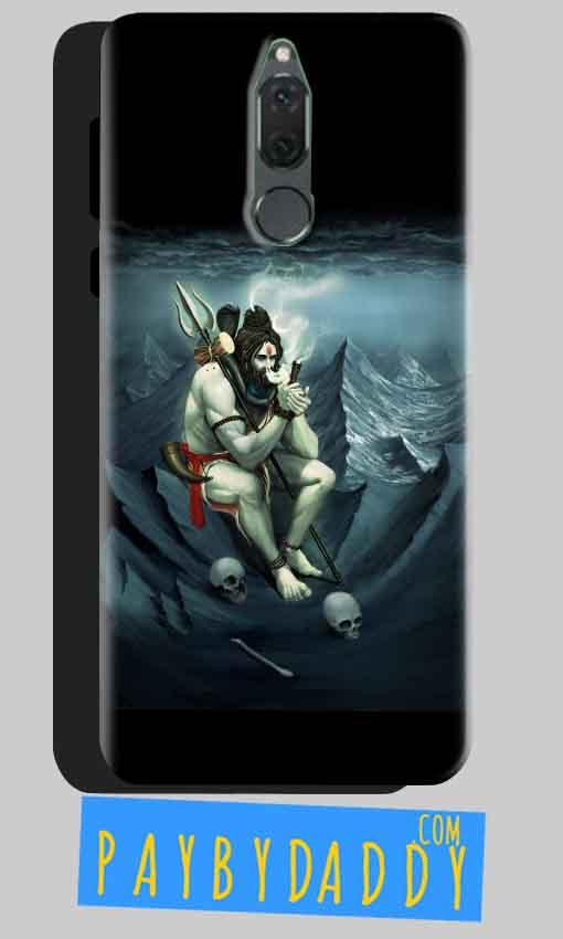 Huawei Honor 9i Mobile Covers Cases Shiva Smoking - Lowest Price - Paybydaddy.com