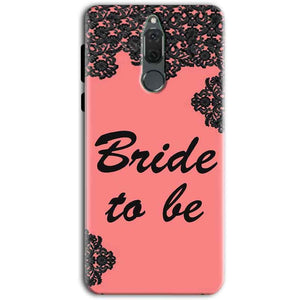 Huawei Honor 9i Mobile Covers Cases Mobile Covers Cases bride to be with ring Black Pink - Lowest Price - Paybydaddy.com