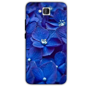 Huawei Honor Holly 2 Plus Mobile Covers Cases Blue flower - Lowest Price - Paybydaddy.com