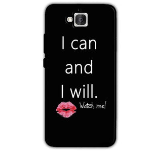 Huawei Honor Holly 2 Plus Mobile Covers Cases i can and i will Lips - Lowest Price - Paybydaddy.com