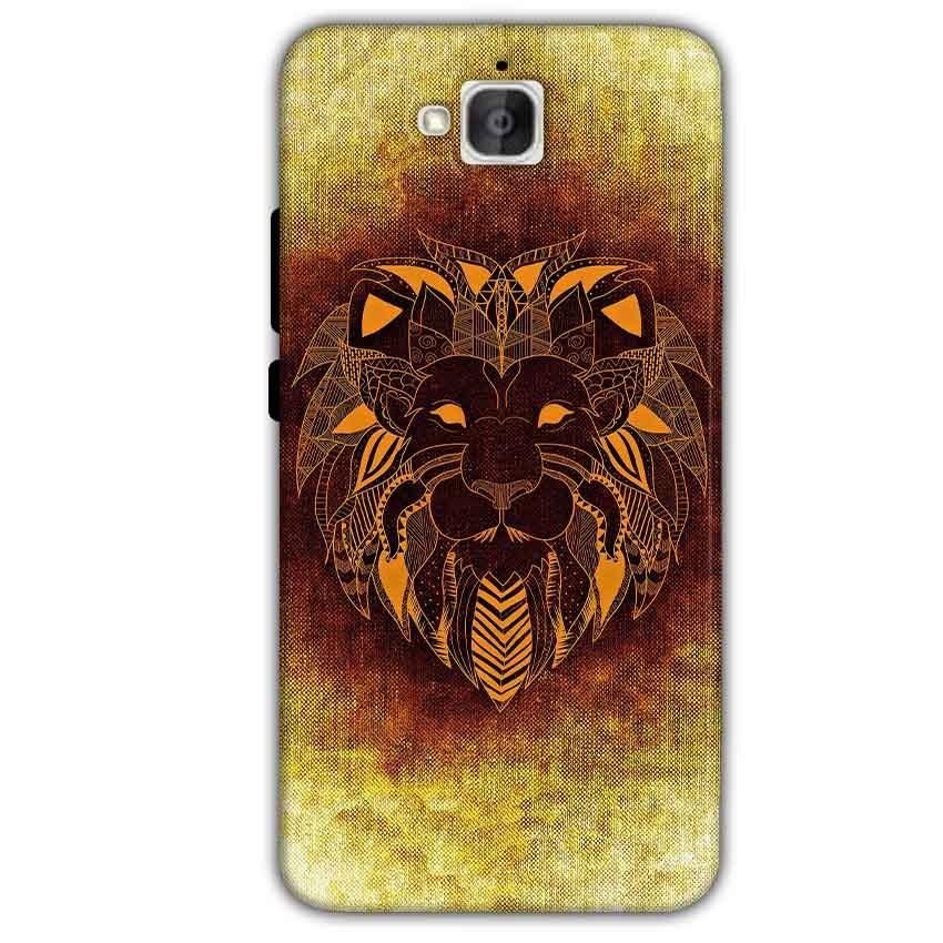 Huawei Honor Holly 2 Plus Mobile Covers Cases Lion face art - Lowest Price - Paybydaddy.com