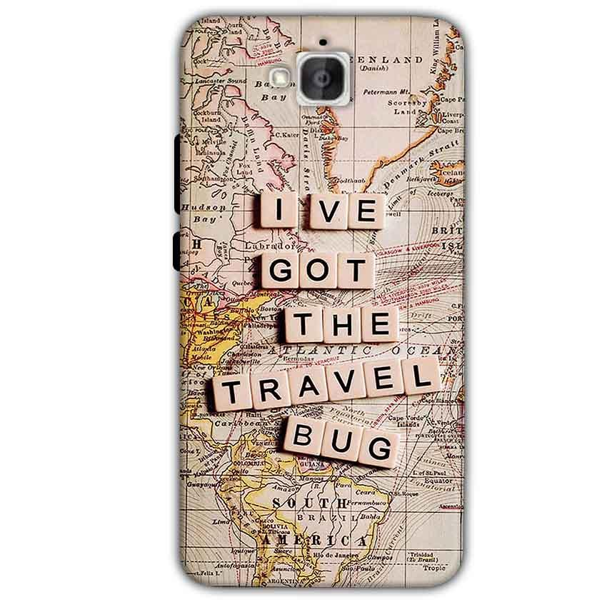 Huawei Honor Holly 2 Plus Mobile Covers Cases Live Travel Bug - Lowest Price - Paybydaddy.com