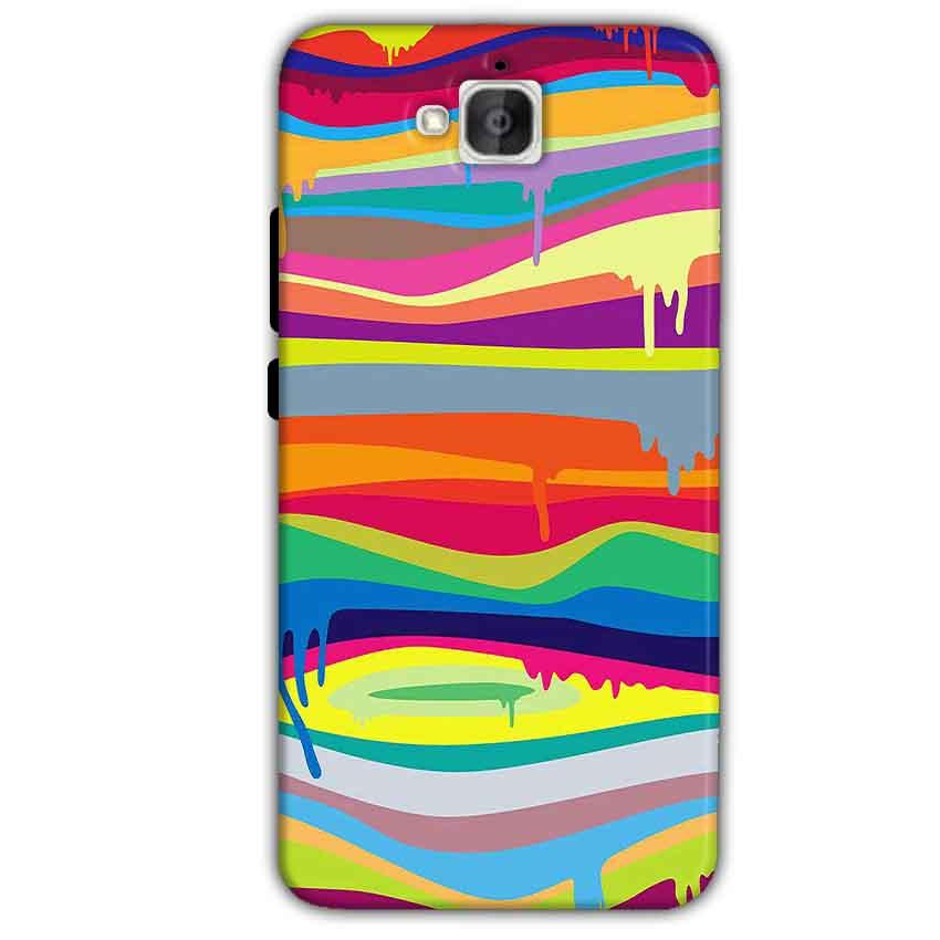 Huawei Honor Holly 2 Plus Mobile Covers Cases Melted colours - Lowest Price - Paybydaddy.com