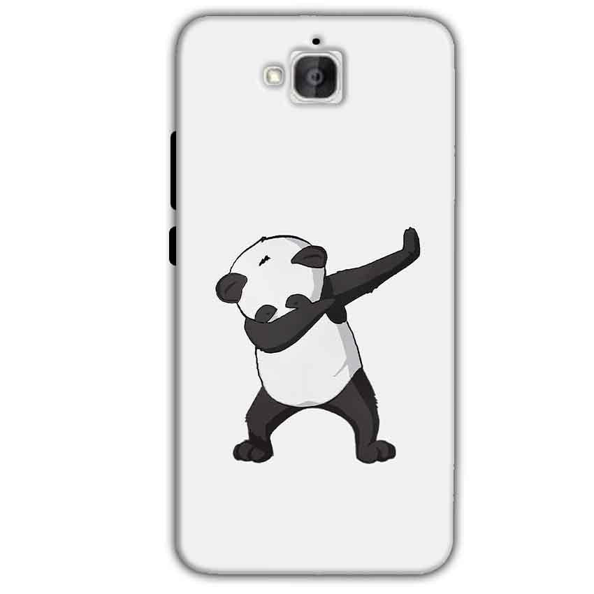 Huawei Honor Holly 2 Plus Mobile Covers Cases Panda Dab - Lowest Price - Paybydaddy.com