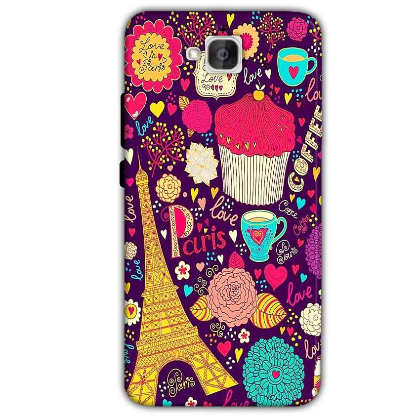 Huawei Honor Holly 2 Plus Mobile Covers Cases Paris Sweet love - Lowest Price - Paybydaddy.com