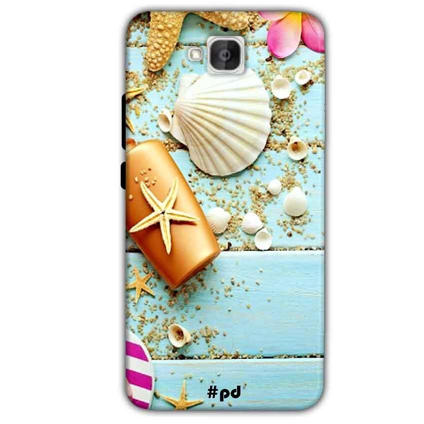Huawei Honor Holly 2 Plus Mobile Covers Cases Pearl Star Fish - Lowest Price - Paybydaddy.com