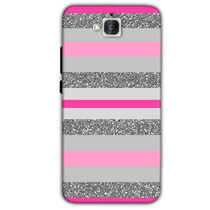 Huawei Honor Holly 2 Plus Mobile Covers Cases Pink colour pattern - Lowest Price - Paybydaddy.com