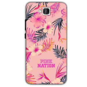 Huawei Honor Holly 2 Plus Mobile Covers Cases Pink nation - Lowest Price - Paybydaddy.com
