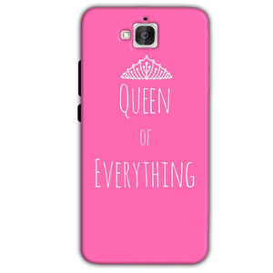 Huawei Honor Holly 2 Plus Mobile Covers Cases Queen Of Everything Pink White - Lowest Price - Paybydaddy.com
