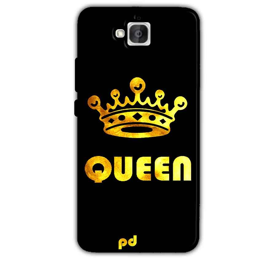 Huawei Honor Holly 2 Plus Mobile Covers Cases Queen With Crown in gold - Lowest Price - Paybydaddy.com