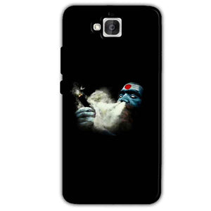 Huawei Honor Holly 2 Plus Mobile Covers Cases Shiva Aghori Smoking - Lowest Price - Paybydaddy.com