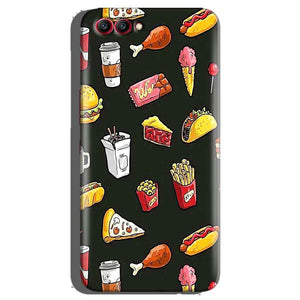 Huawei Honor View 10 Mobile Covers Cases Foodie Design - Lowest Price - Paybydaddy.com