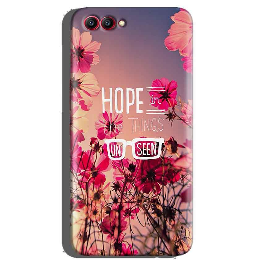 Huawei Honor View 10 Mobile Covers Cases Hope in the Things Unseen- Lowest Price - Paybydaddy.com