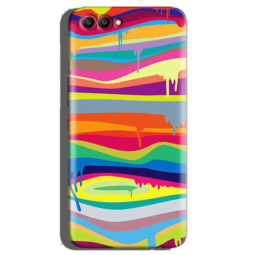 Huawei Honor View 10 Mobile Covers Cases Melted colours - Lowest Price - Paybydaddy.com