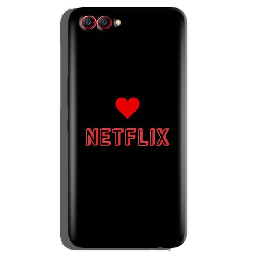 Huawei Honor View 10 Mobile Covers Cases NETFLIX WITH HEART - Lowest Price - Paybydaddy.com