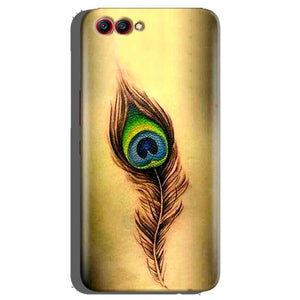 Huawei Honor View 10 Mobile Covers Cases Peacock coloured art - Lowest Price - Paybydaddy.com