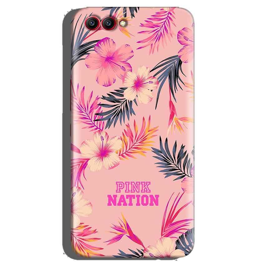 Huawei Honor View 10 Mobile Covers Cases Pink nation - Lowest Price - Paybydaddy.com