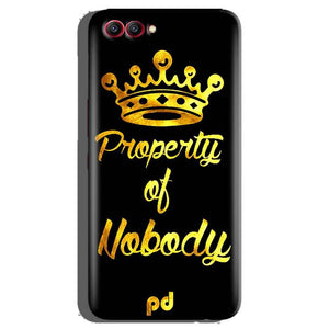 Huawei Honor View 10 Mobile Covers Cases Property of nobody with Crown - Lowest Price - Paybydaddy.com